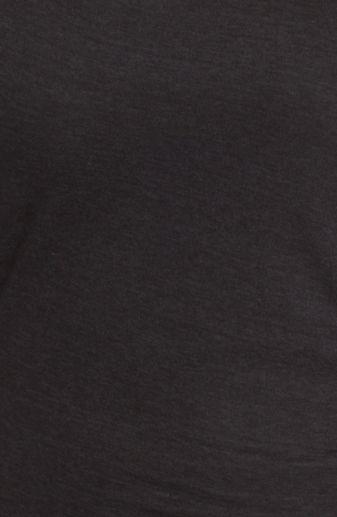 Alternate Image 5  - Pam & Gela Off the Shoulder Body-Con Dress