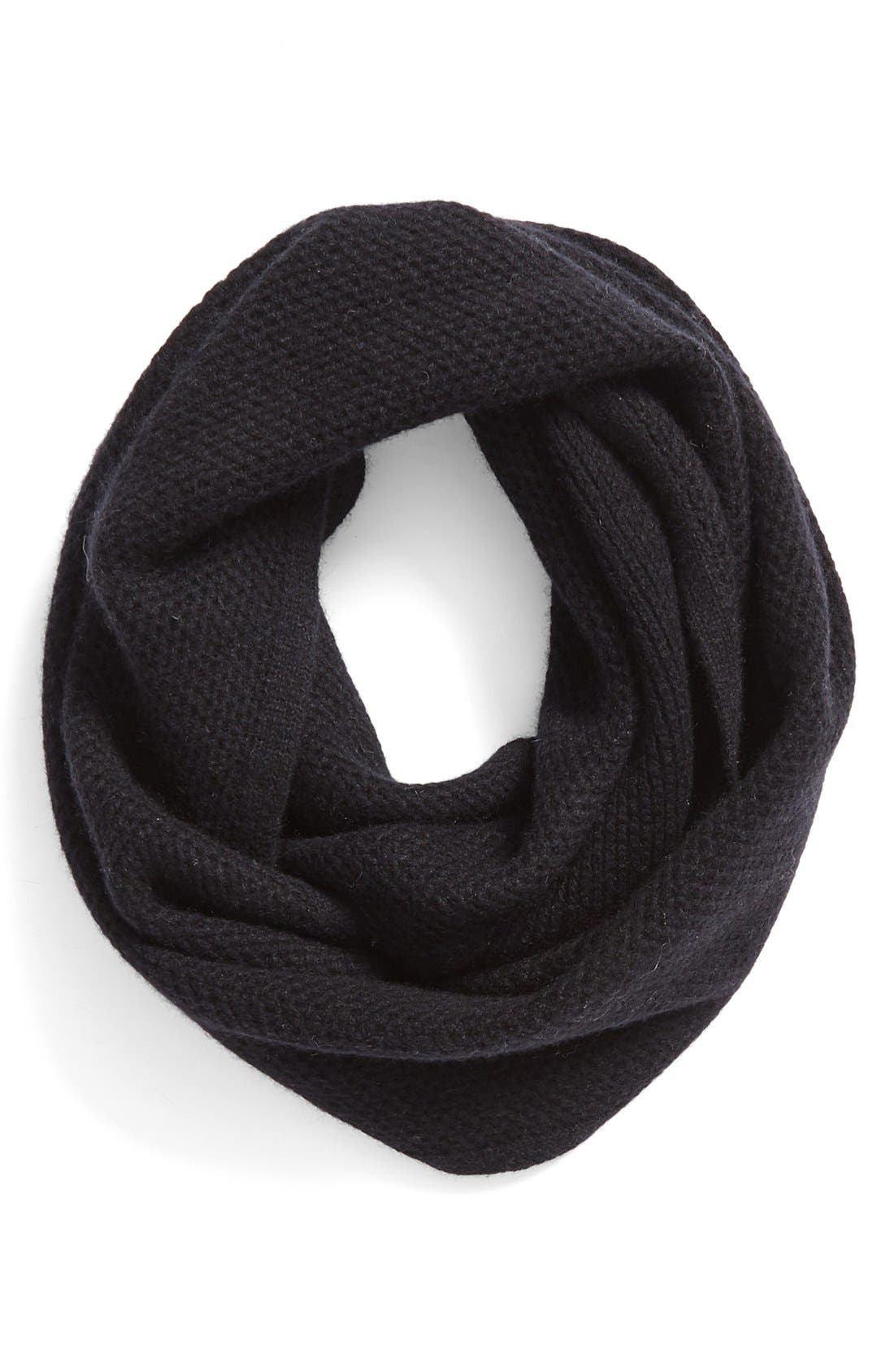 Main Image - Halogen® Knit Cashmere Infinity Scarf