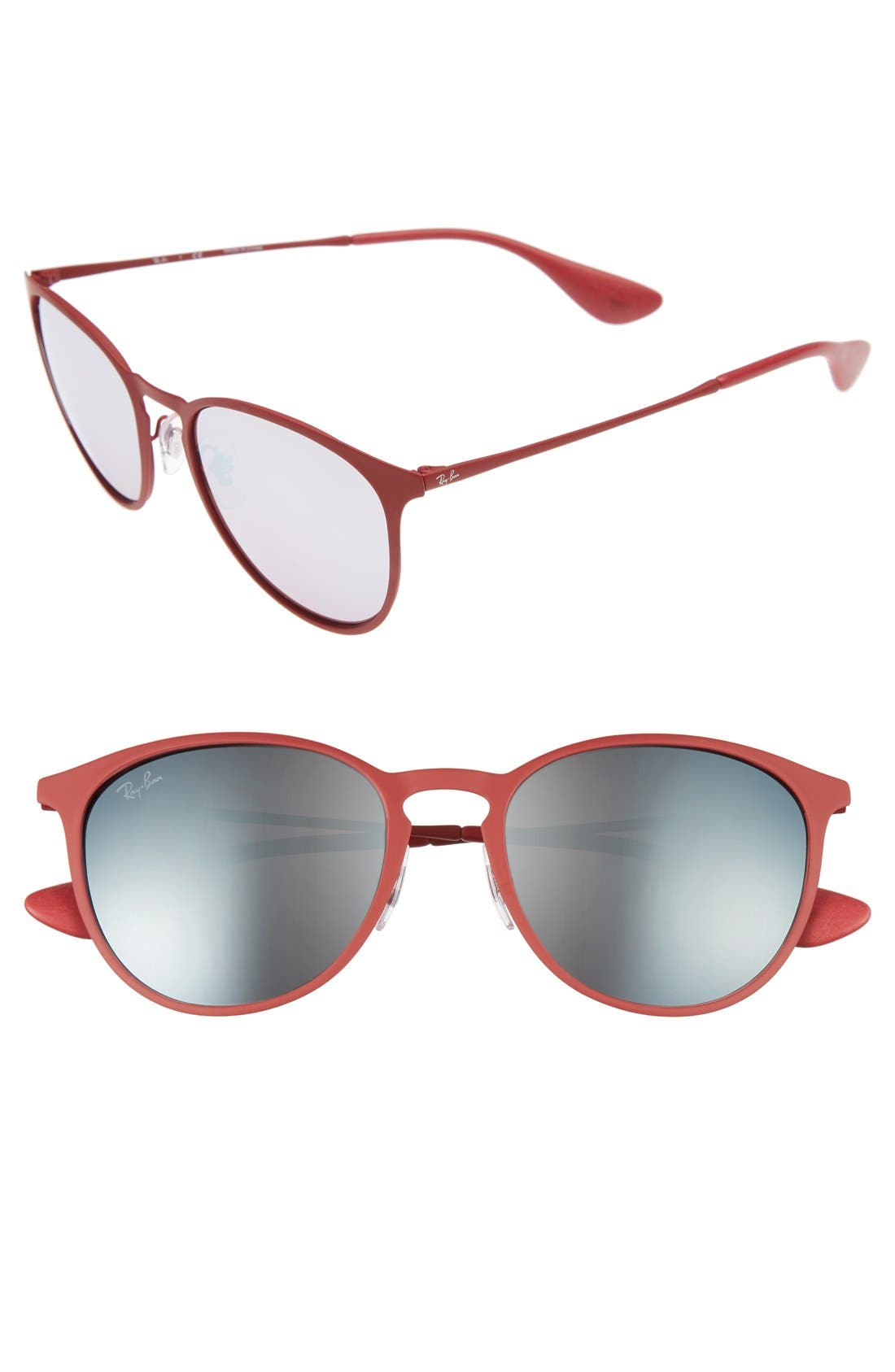 Highstreet 54mm Sunglasses,                             Main thumbnail 1, color,                             Bordeaux