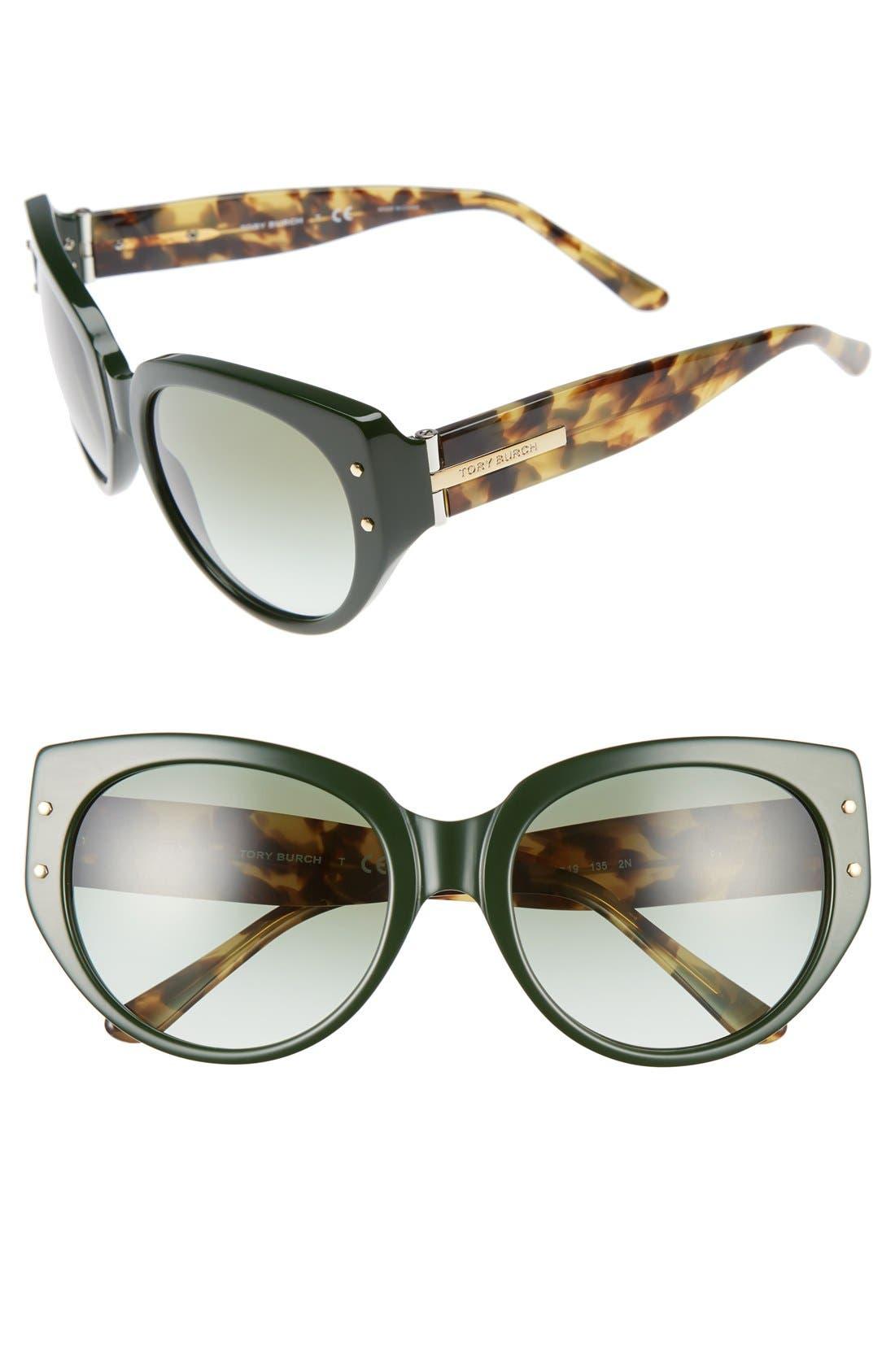 Main Image - Tory Burch 55mm Sunglasses