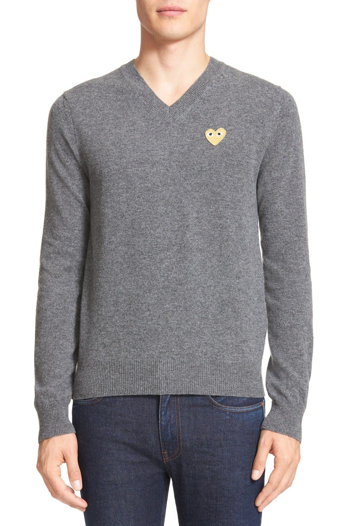 COMME DES GARÇONS PLAY Wool Pullover
