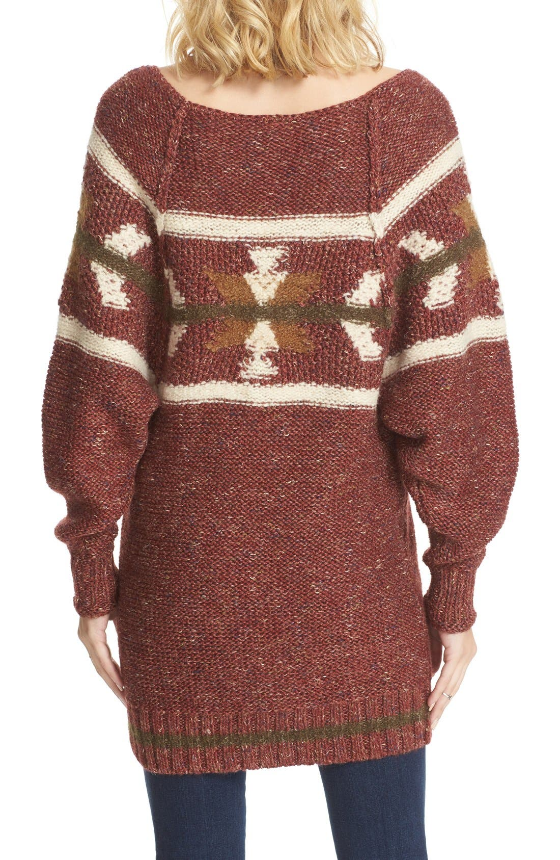 Alternate Image 2  - Free People Northern Lights Sweater Dress