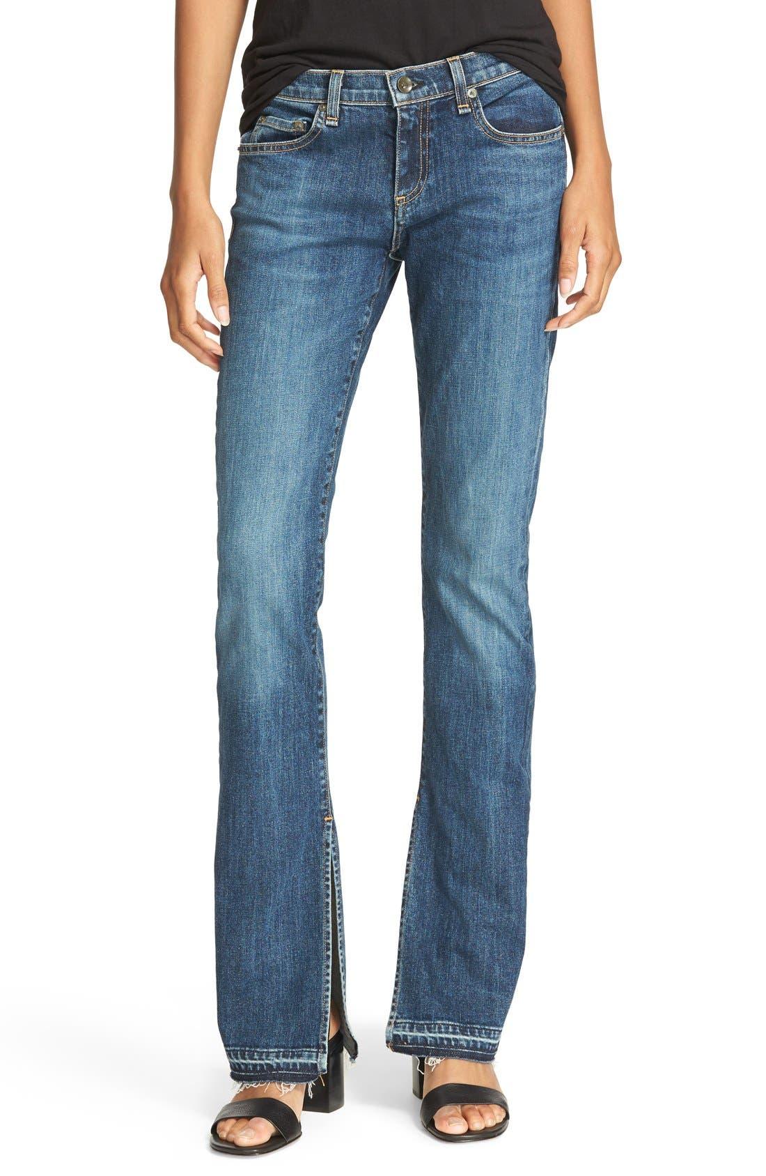 RAG & BONE/JEAN Lottie High Waist Bootcut Jeans