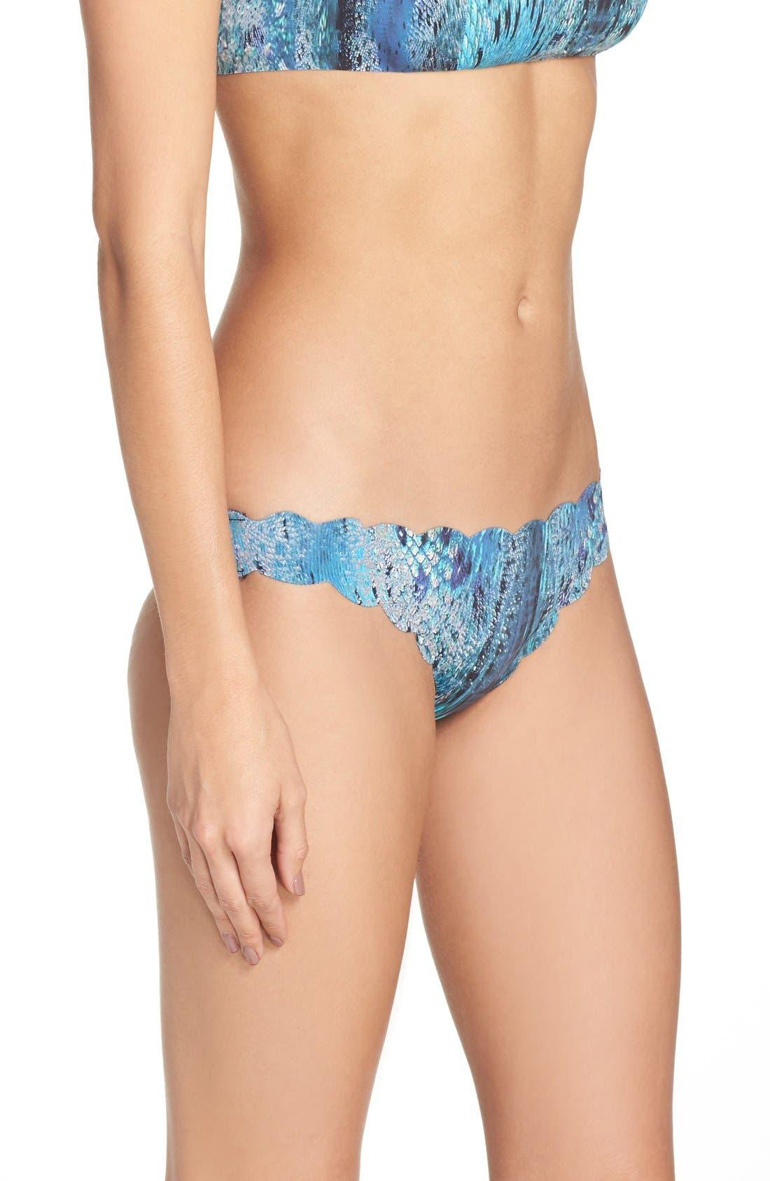 Alternate Image 4  - PilyQ Seamless Reversible Bikini Bottoms