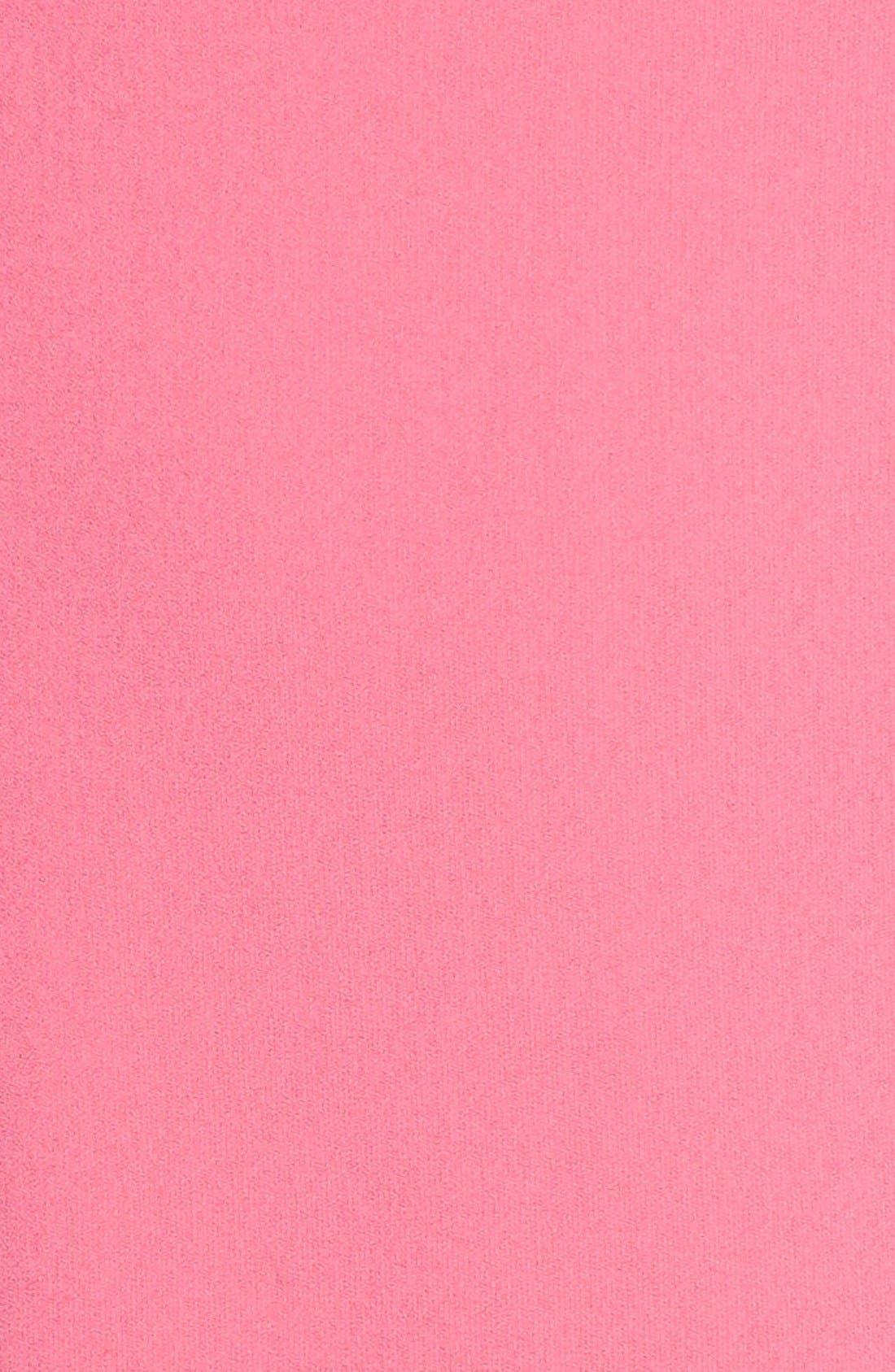 Ava Off the Shoulder Dress,                             Alternate thumbnail 6, color,                             Tulip Pink