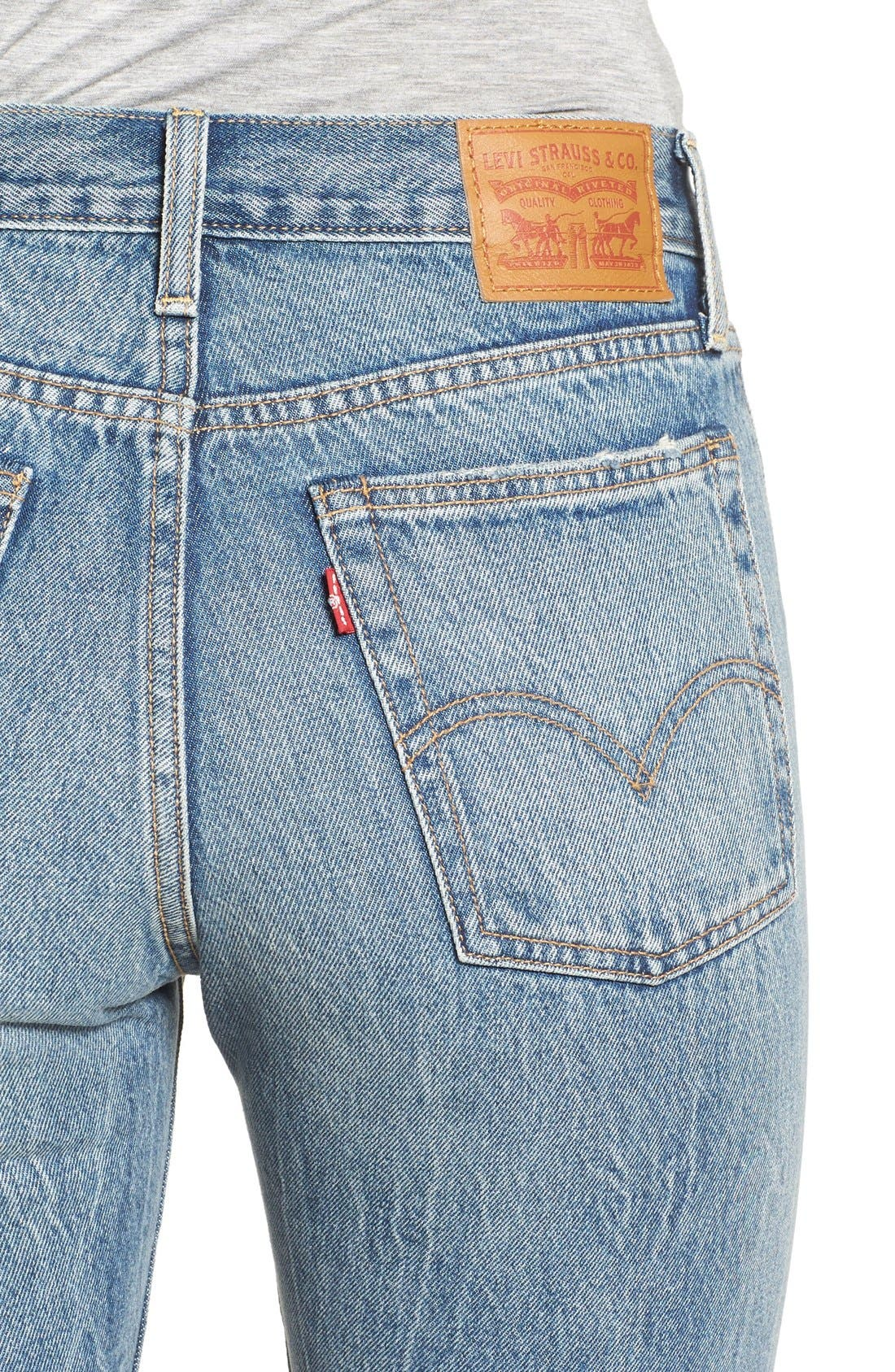 Alternate Image 4  - Levi's® The Wedgie Icon Fit Jeans