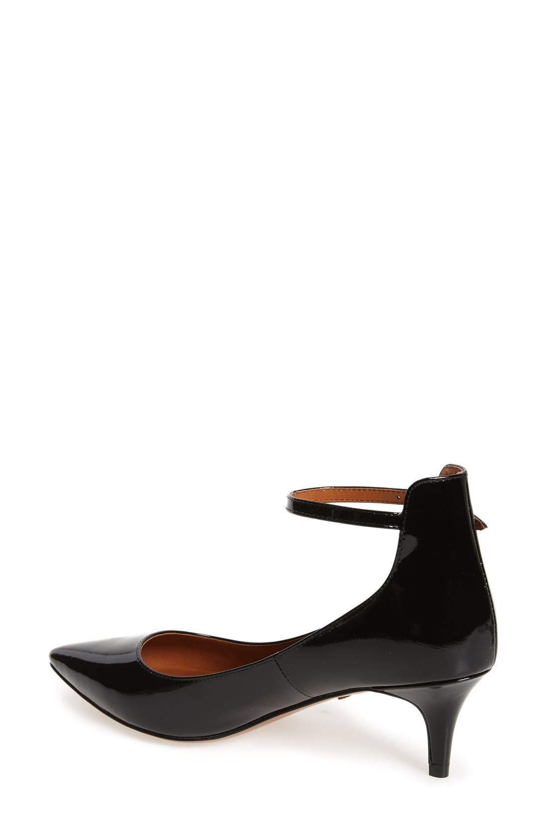 Alternate Image 2  - Linea Paolo 'Cutie' Ankle Strap Pointy Toe Pump (Women)