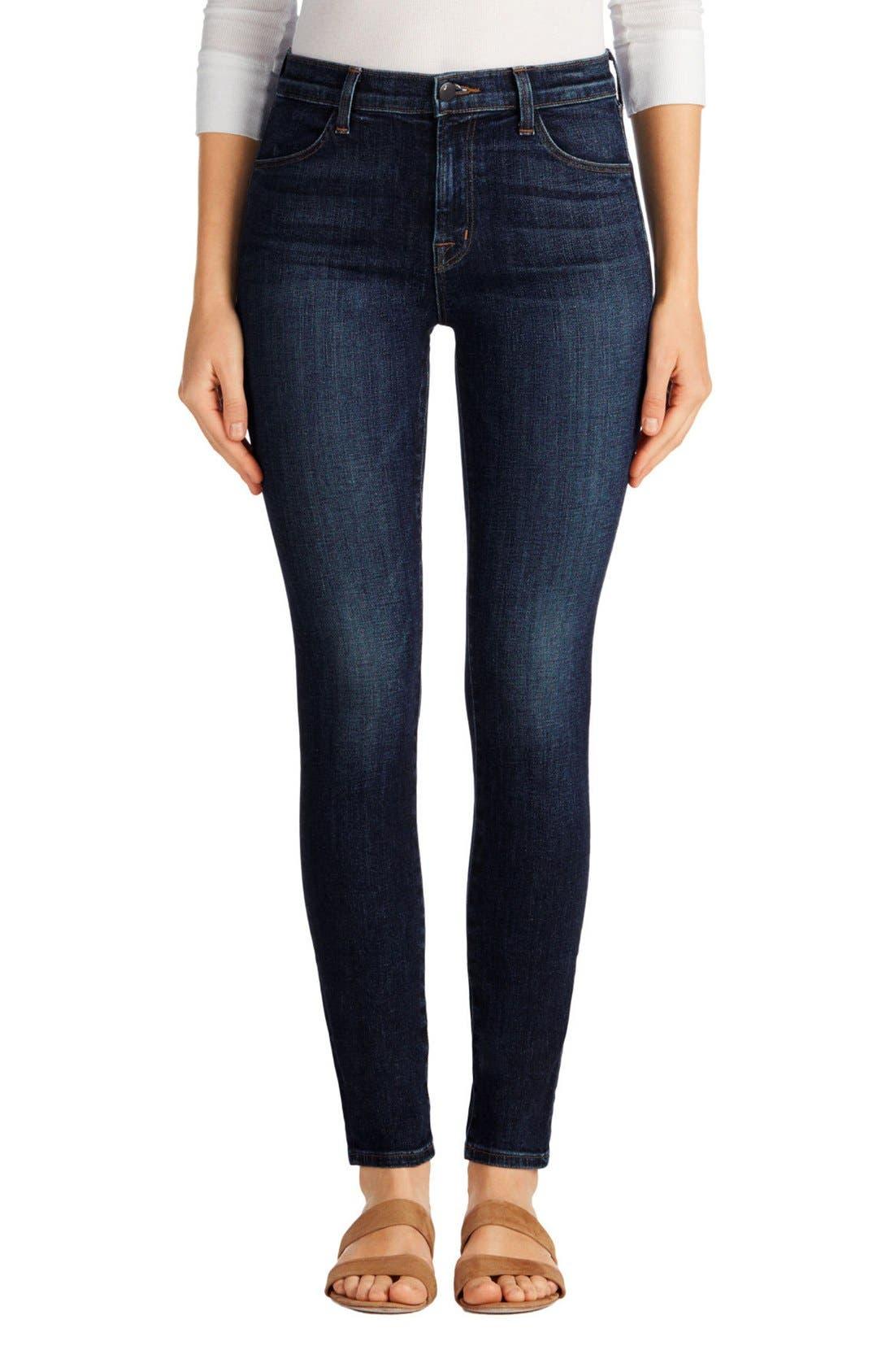 Alternate Image 1 Selected - J Brand Maria High Waist Skinny Jeans