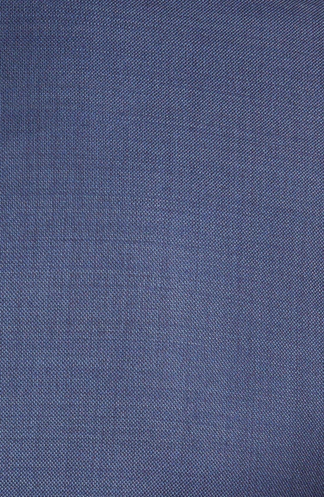 Flynn Classic Fit Wool Suit,                             Alternate thumbnail 7, color,                             Blue