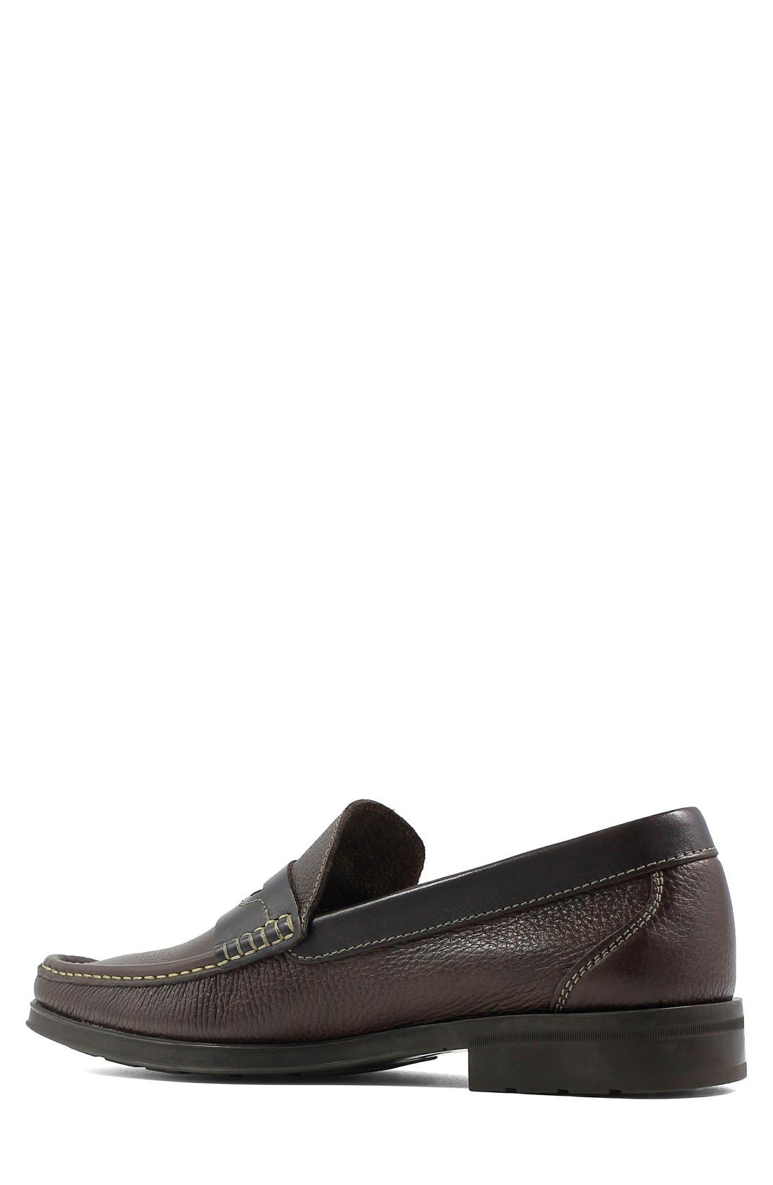 Westbrook Penny Loafer,                             Alternate thumbnail 2, color,                             Brown Milled Leather