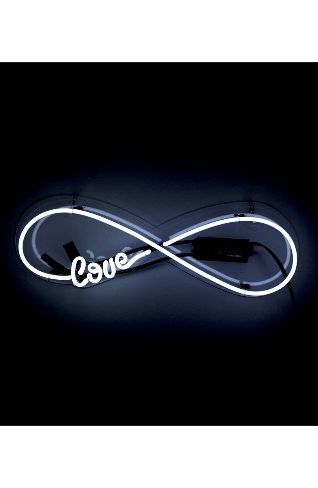 Alternate Image 1 Selected - Oliver Gal Love Infinity Neon Sign