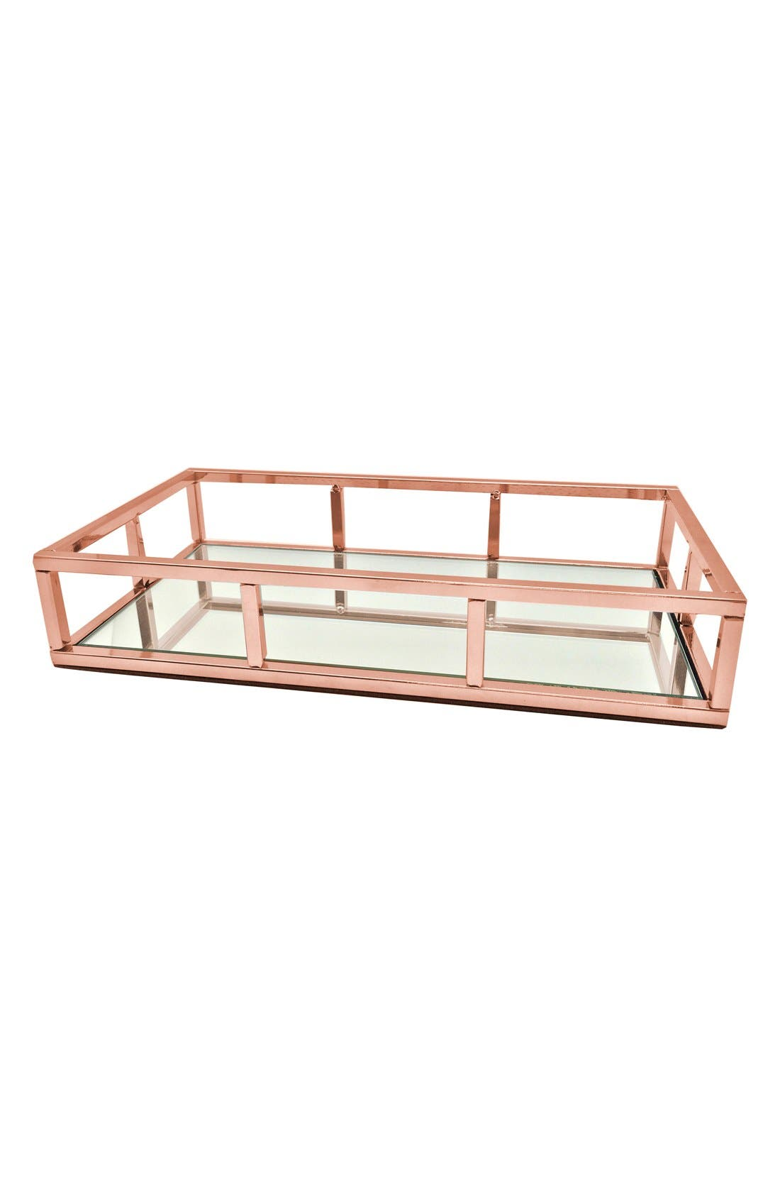 Danielle Creations Rose Gold Mirror Tray (Nordstrom Exclusive)