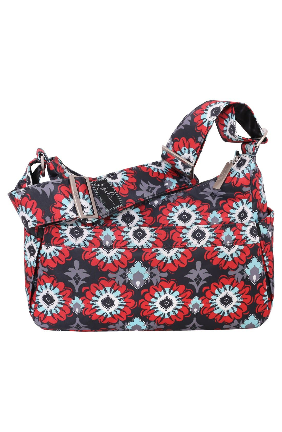'HoboBe' Diaper Bag,                             Alternate thumbnail 3, color,                             Sweet Scarlet