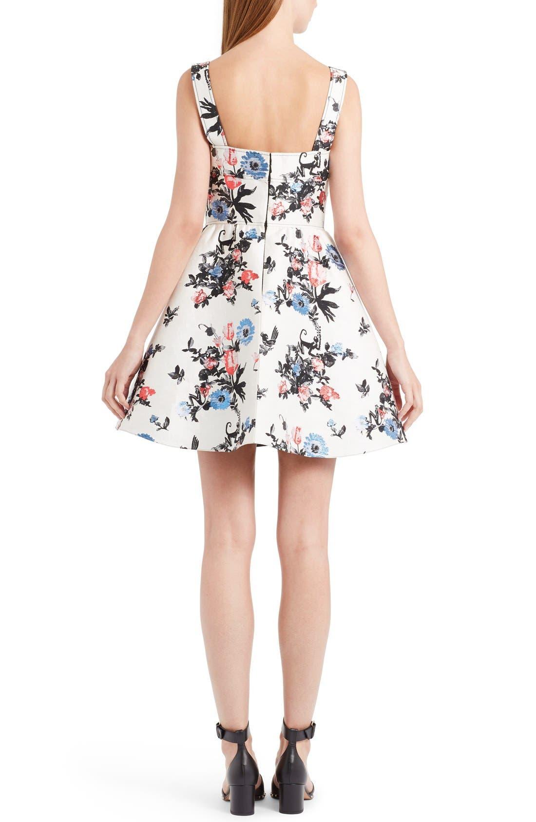 Alternate Image 2  - Valentino Enchanted Jungle Brocade Dress