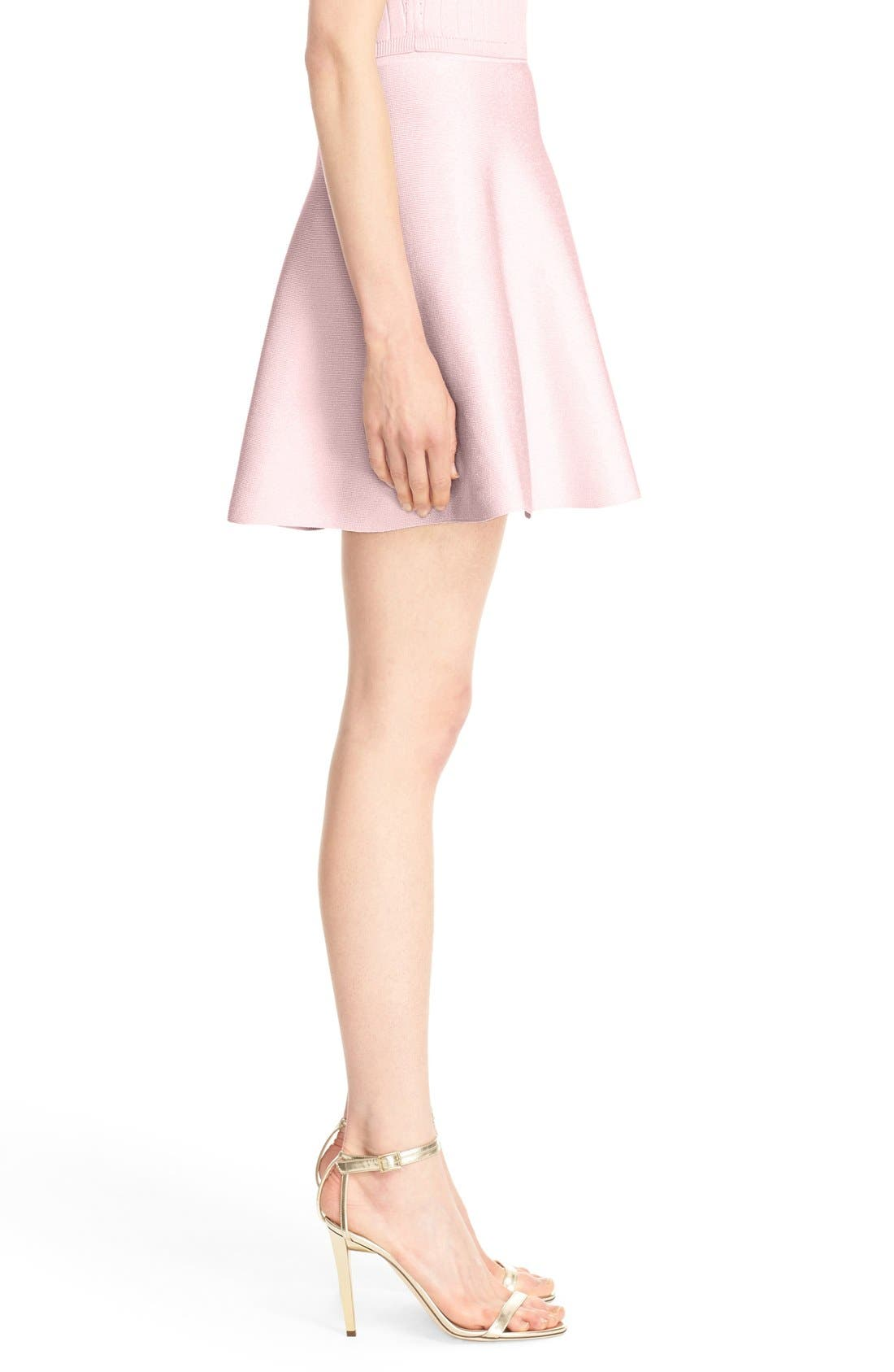 Alternate Image 4  - Cushnie et Ochs Knit Circle Cut Miniskirt