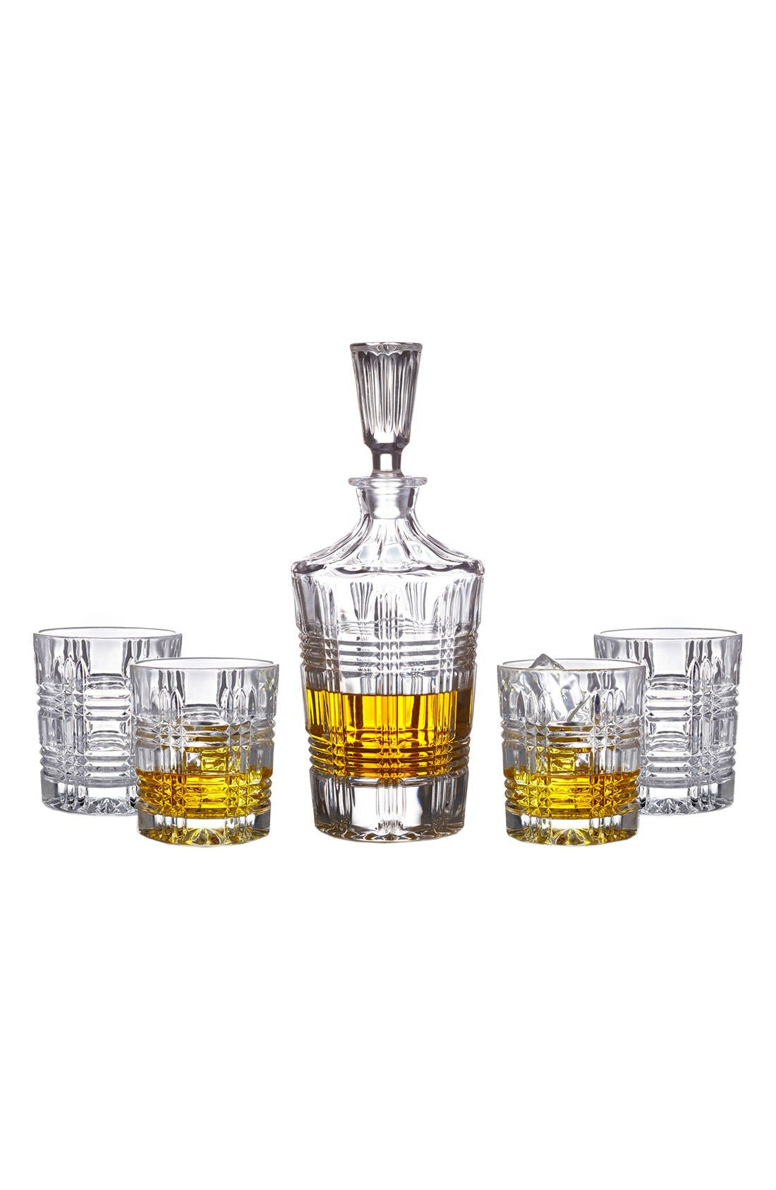 Alternate Image 2  - American Atelier Bridgeport 5-Piece Decanter Set