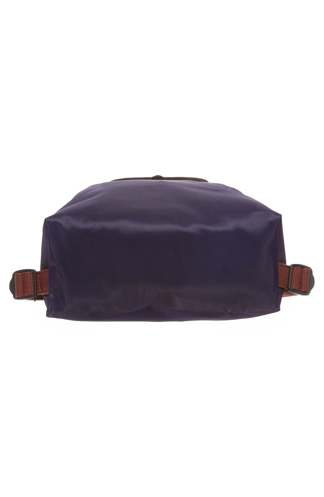 'Le Pliage' Backpack,                             Alternate thumbnail 6, color,                             Bilberry