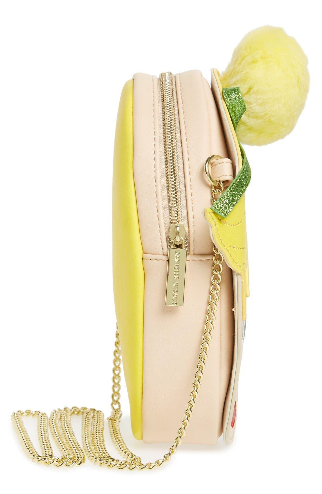 Alternate Image 4  - Danielle Nicole x Disney® Tinker Bell Faux Leather Crossbody Bag