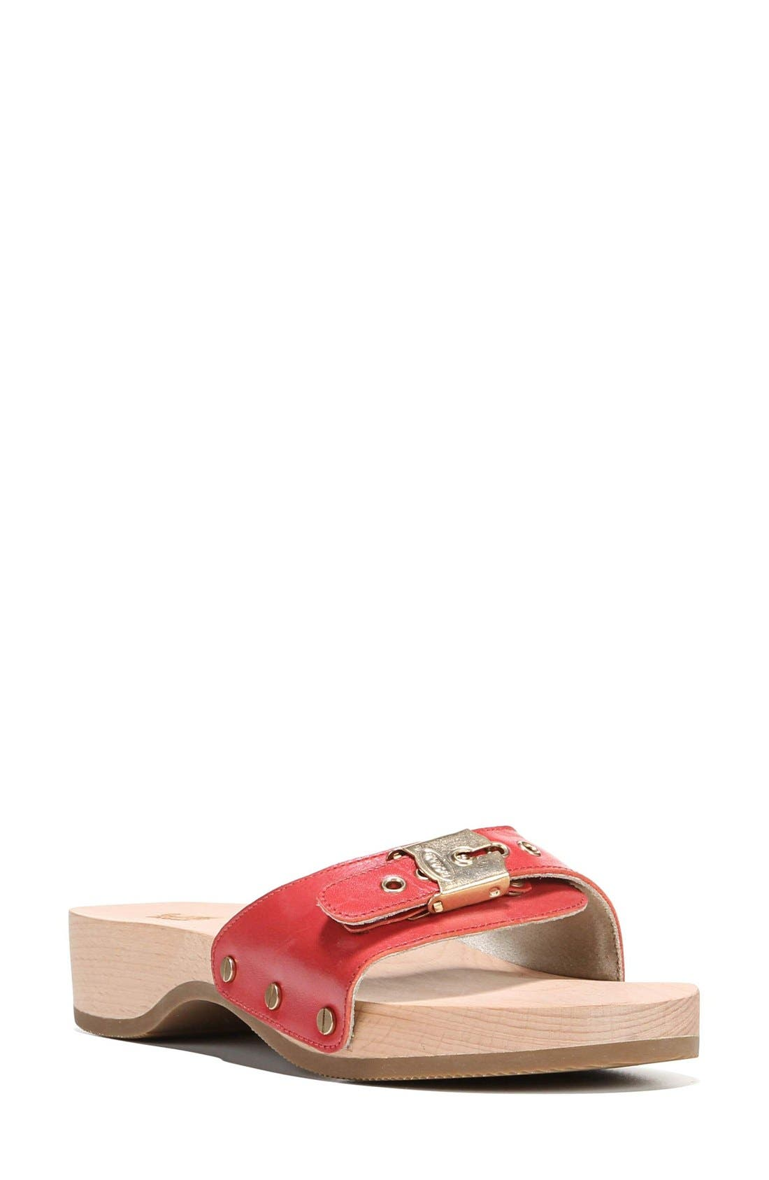 Original Collection Sandal,                         Main,                         color, Red