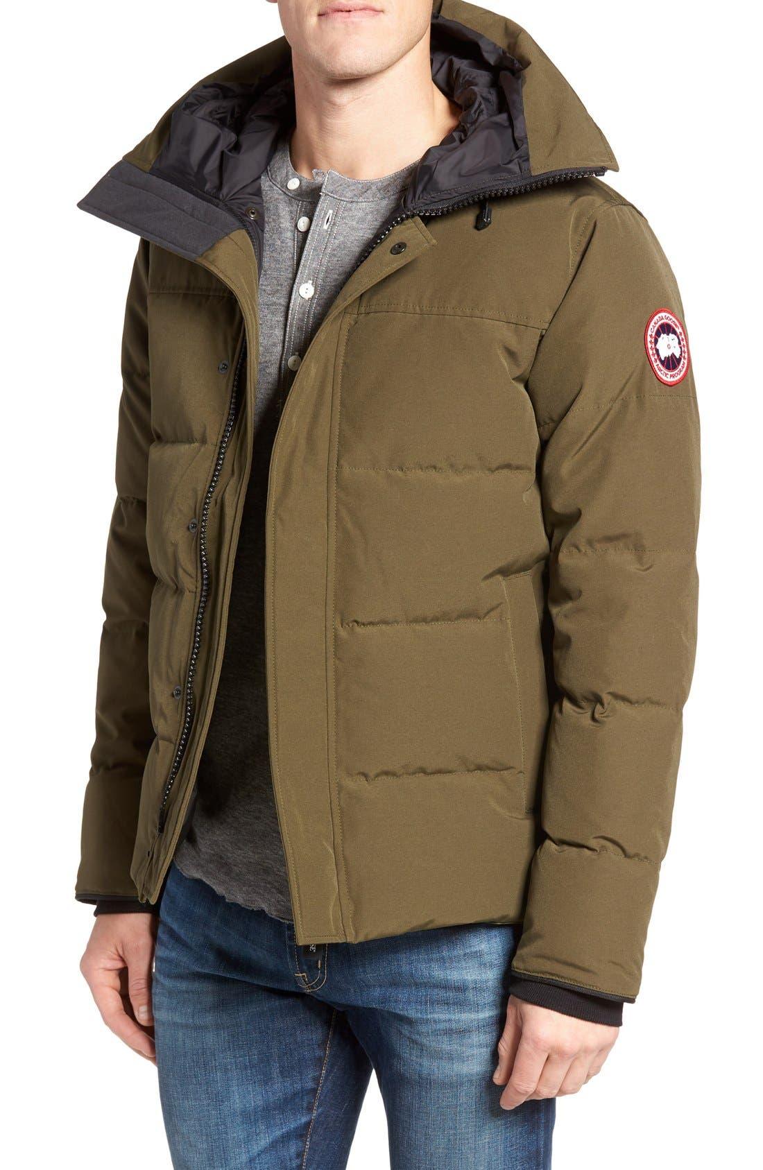 Canada Goose 'MacMillan' Slim Fit Hooded Parka