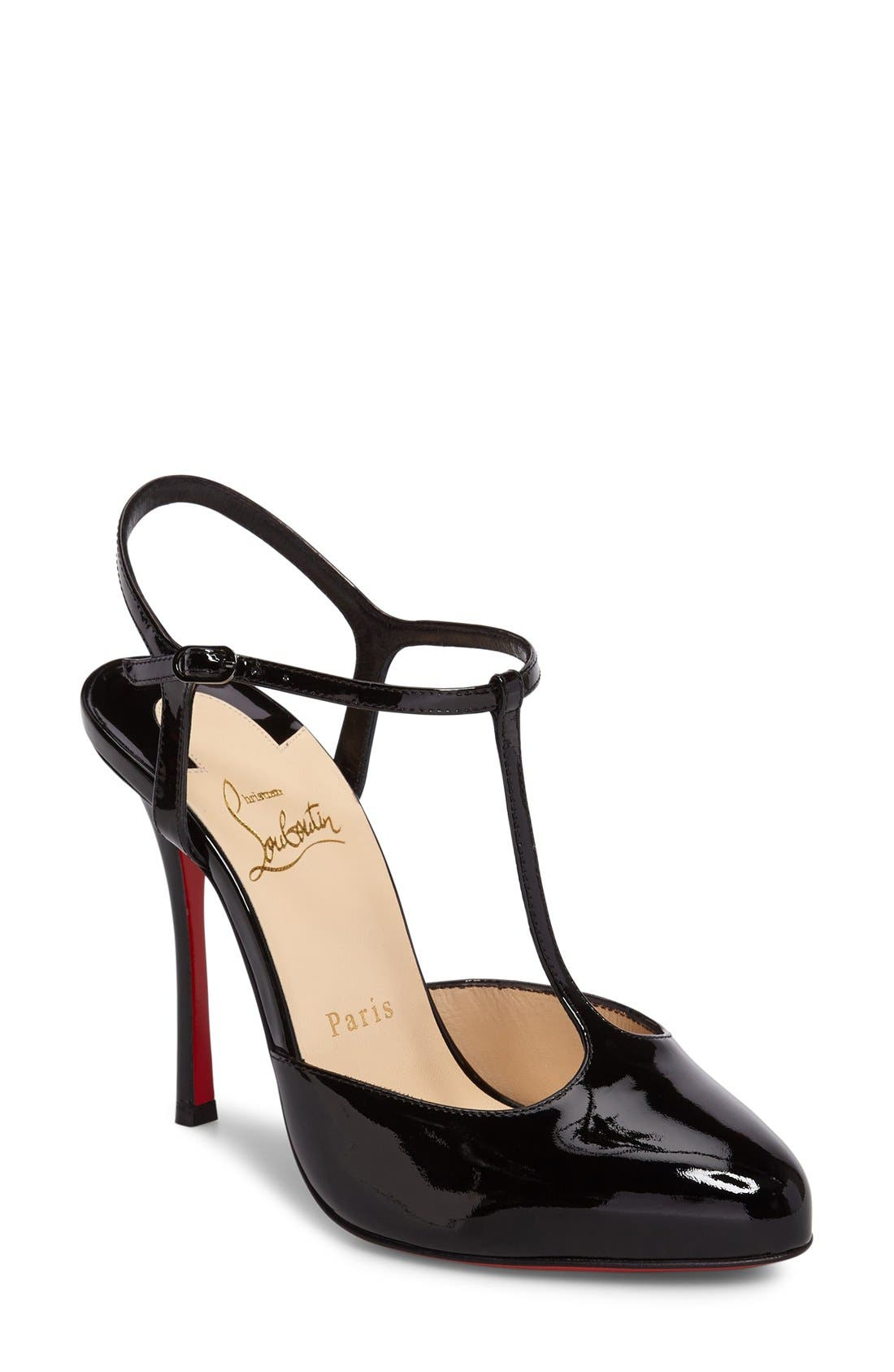 Alternate Image 1 Selected - Christian Louboutin Pam T-Strap Pump