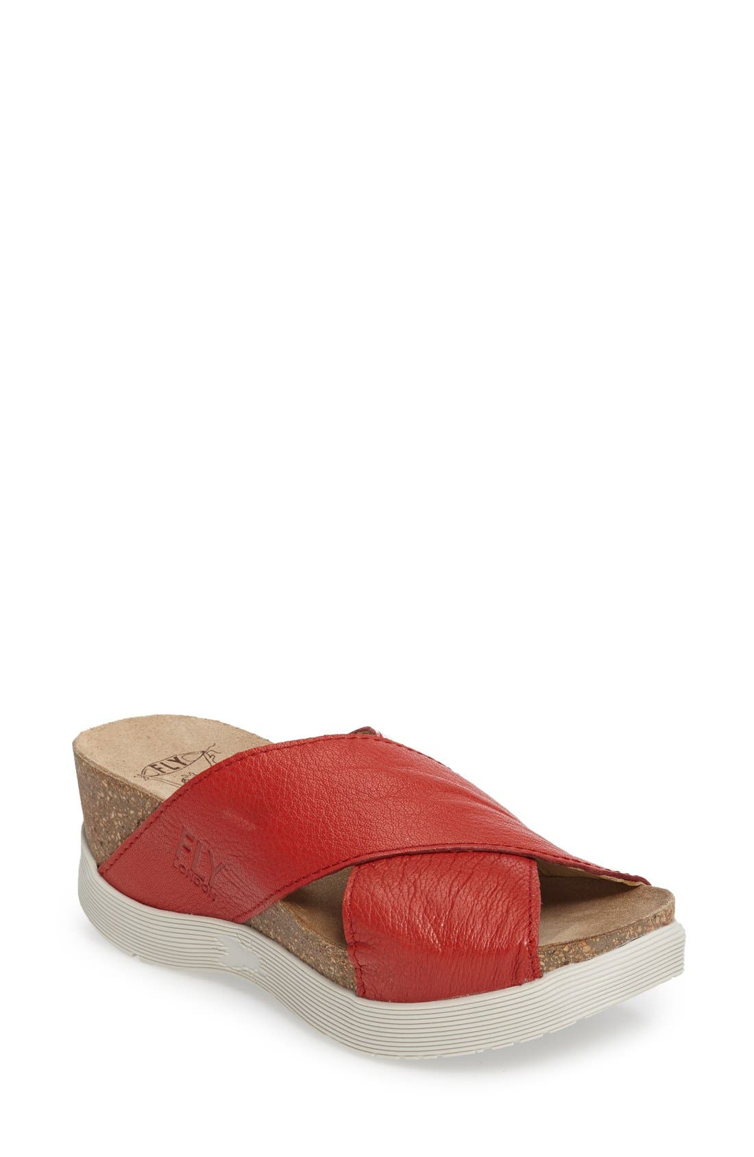 Fly London Wary Platform Sandal (Women)