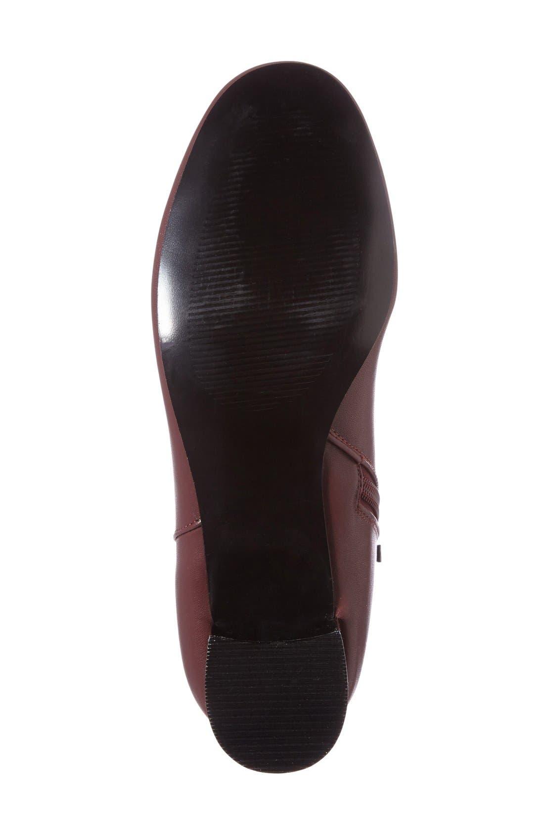 Alternate Image 4  - Topshop Bella Metallic Heel Bootie (Women)