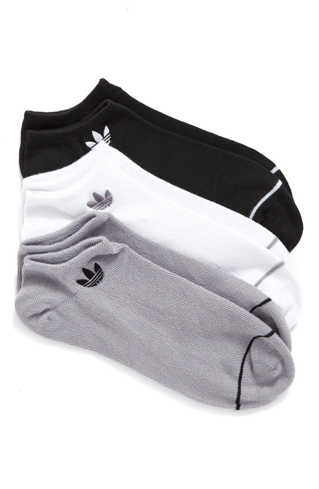 Alternate Image 1 Selected - adidas Superlite 3-Pack Socks