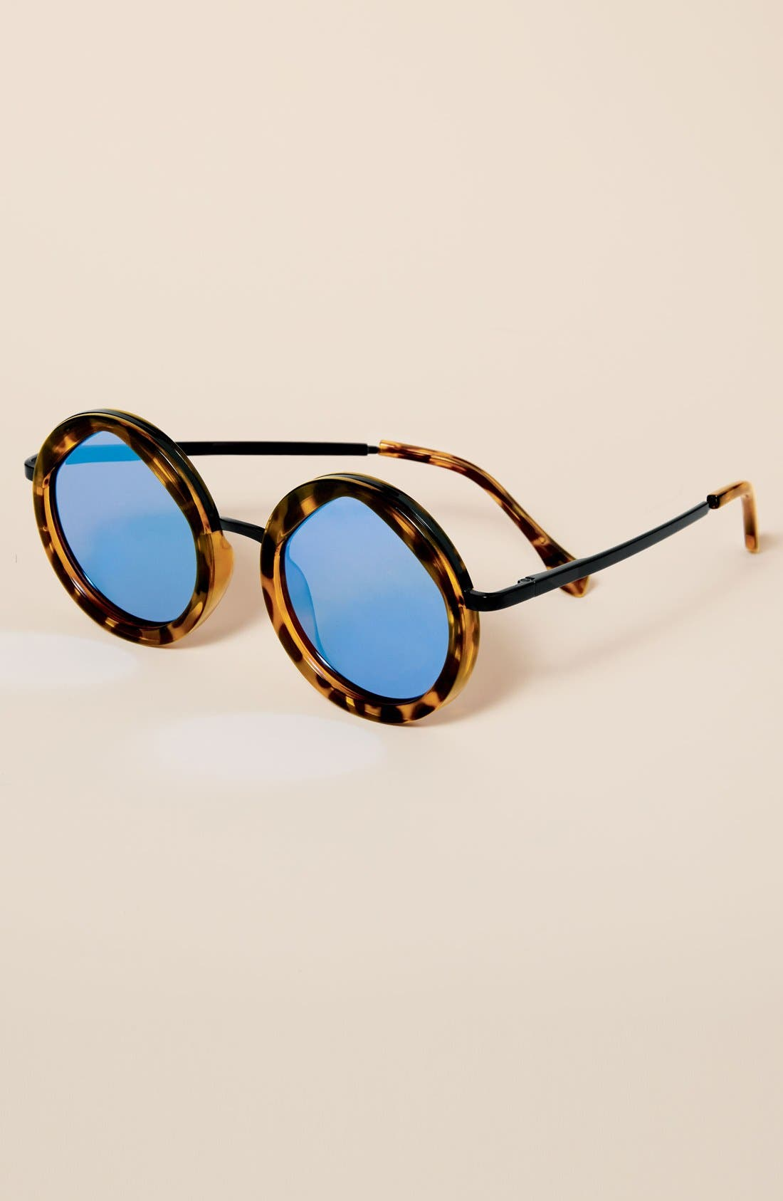 Alternate Image 3  - Le Specs Hey Yeh 50mm Round Sunglasses