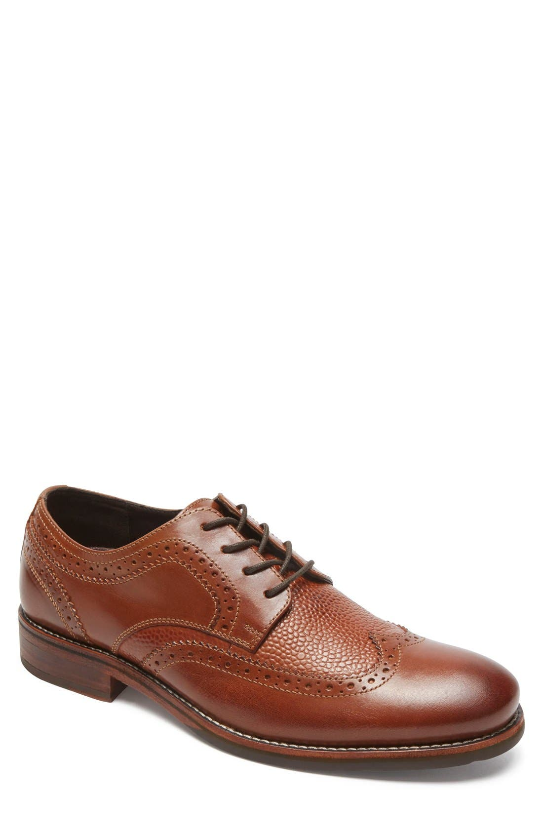 Main Image - Rockport Wyat Wingtip (Men)