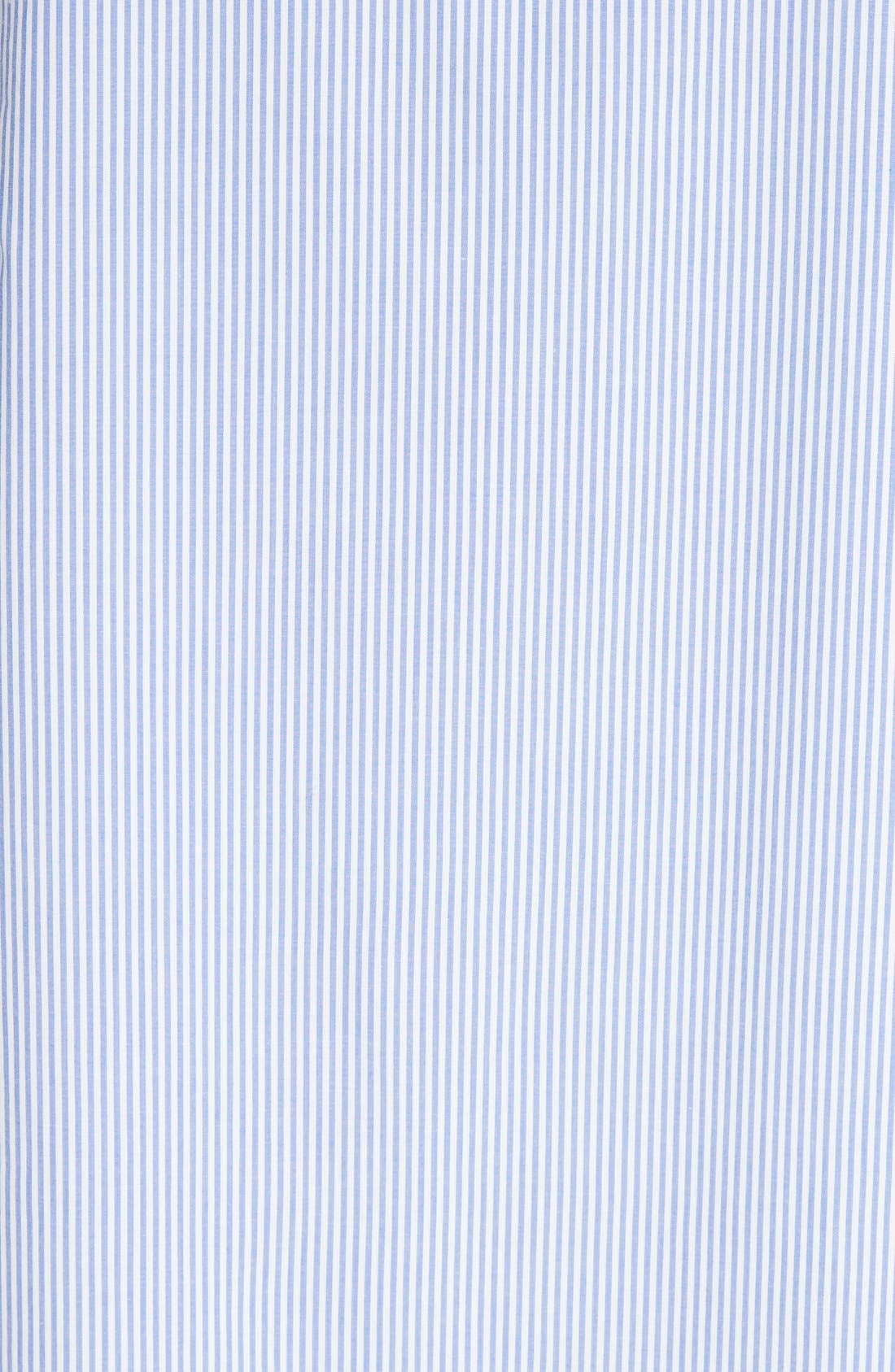 Alternate Image 5  - Tibi Elliot Stripe Trapeze Dress