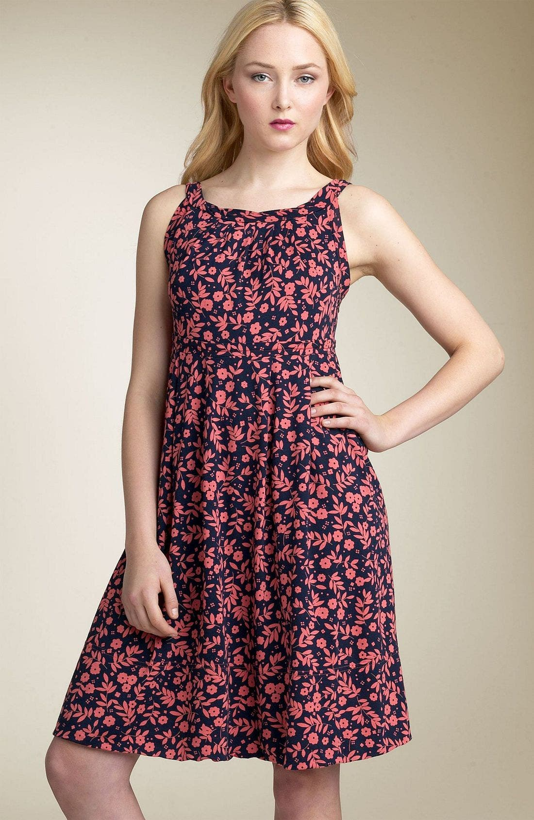 Alternate Image 1 Selected - MARC BY MARC JACOBS 'Raya Flower' Jersey Dress