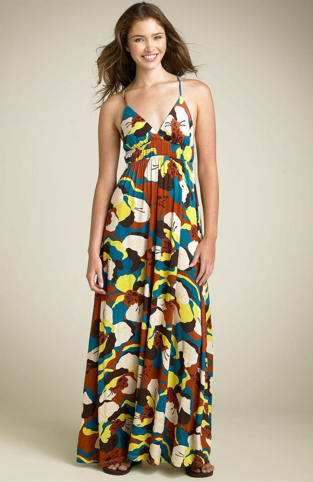 Alternate Image 1 Selected - Floral Maxi Dress