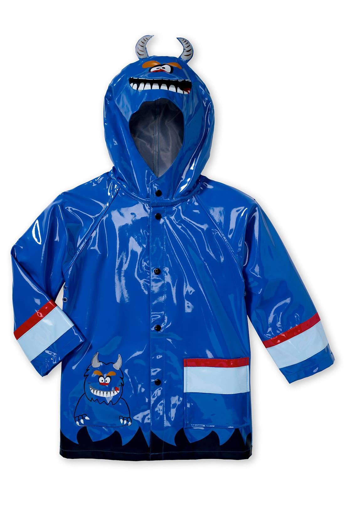 'Monster' Raincoat,                         Main,                         color, Monster
