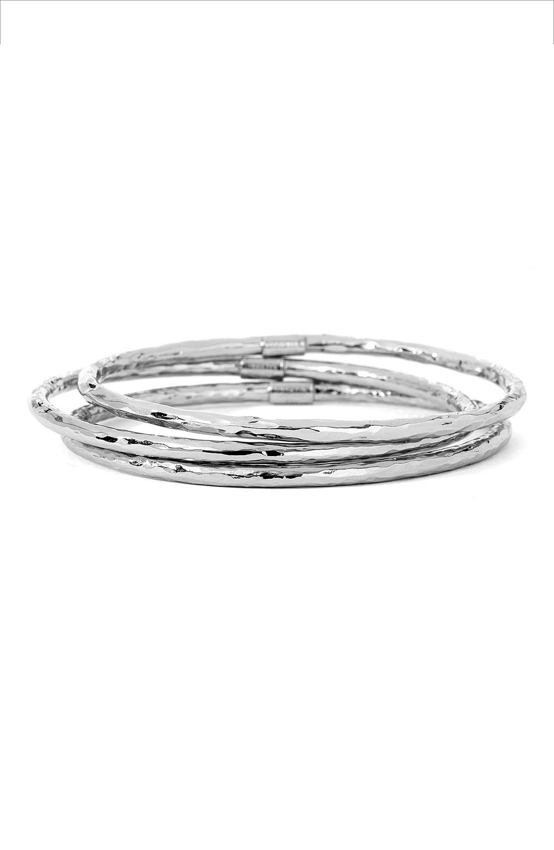 Alternate Image 2  - Ippolita 'Glamazon' 4mm Hammered Bangle