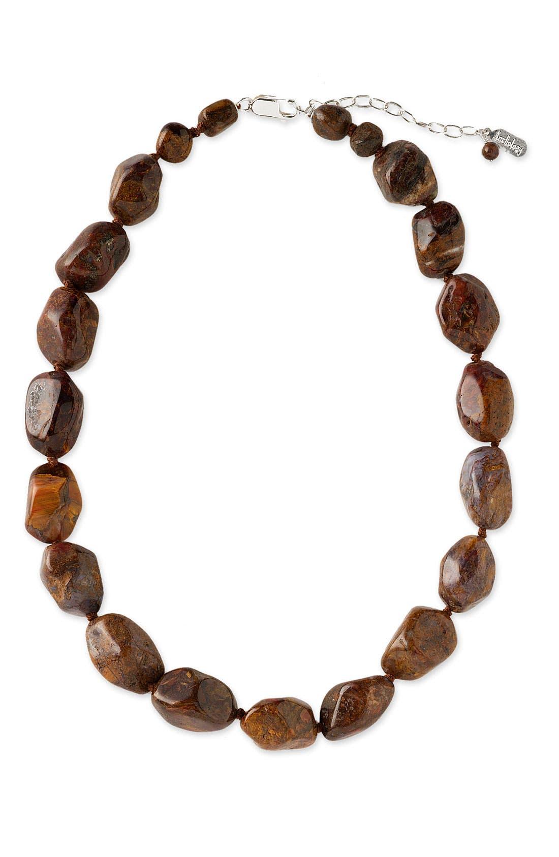 Alternate Image 1 Selected - Anthology Semiprecious Stone Necklace
