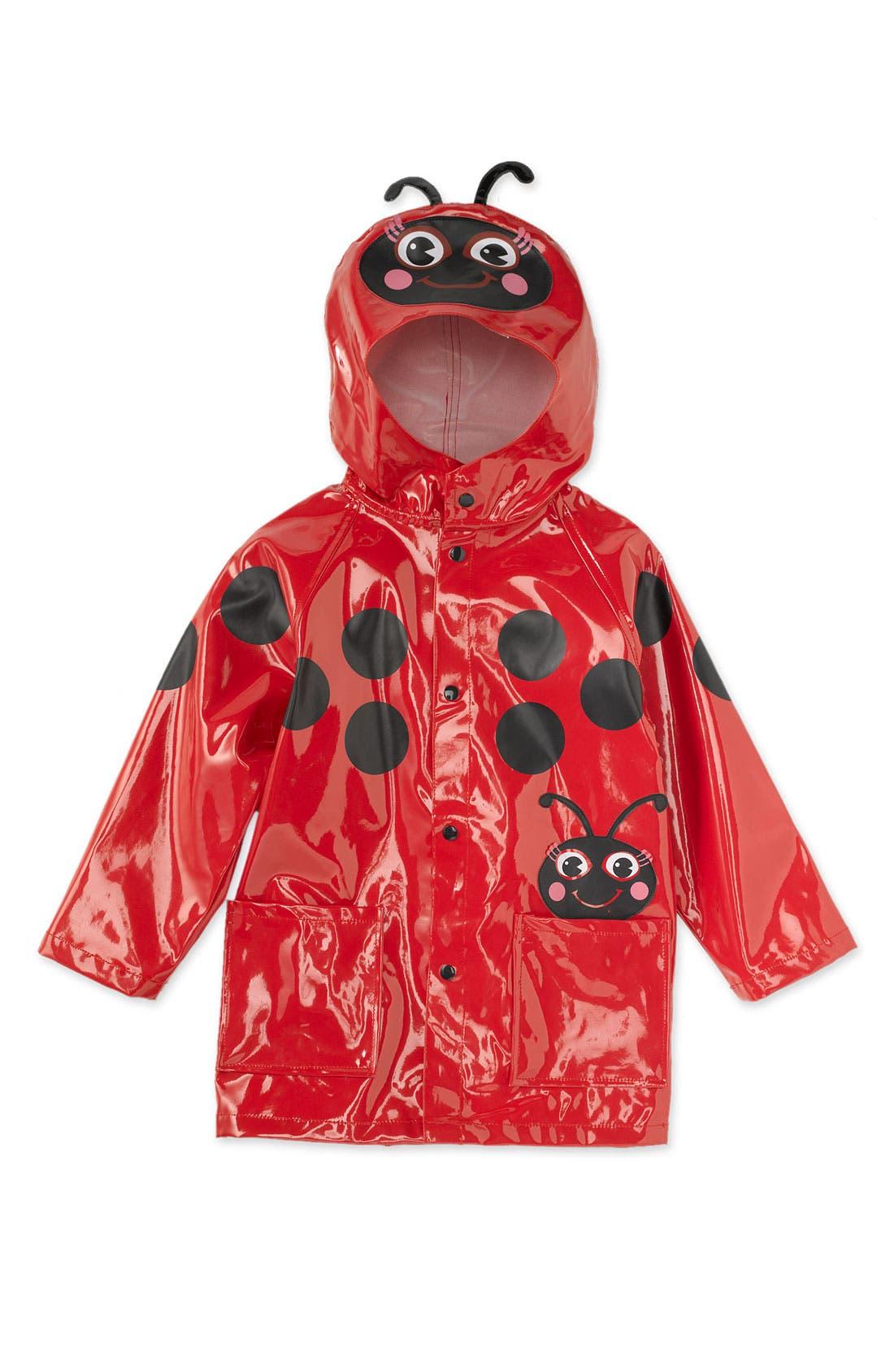 Main Image - Western Chief 'Ladybug' Raincoat (Little Kid)