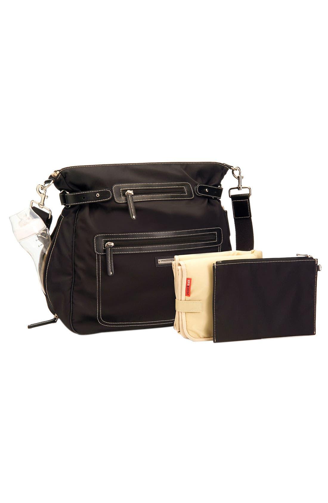 Alternate Image 2  - Storksak Convertible Diaper Bag