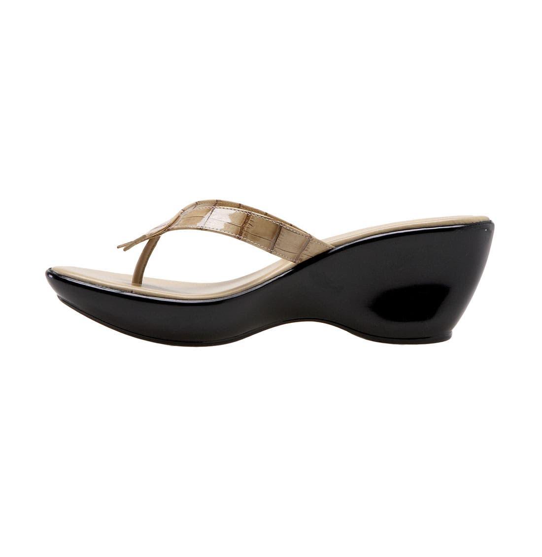Alternate Image 2  - Athena Alexander 'Bunni' Wedge Sandal