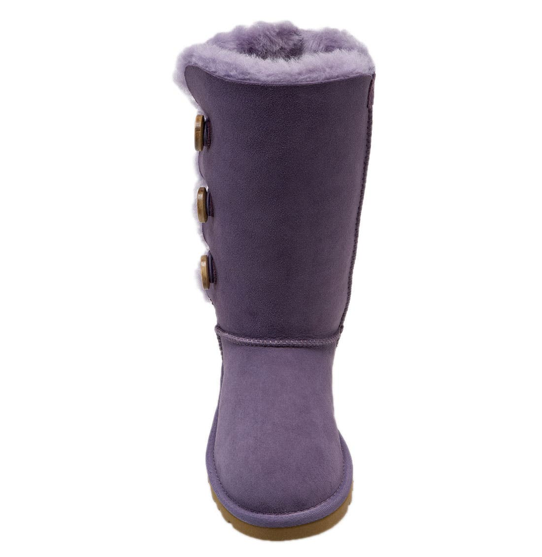 Alternate Image 3  - UGG® 'Bailey Button Triplet' Boot (Little Kid & Big Kid)