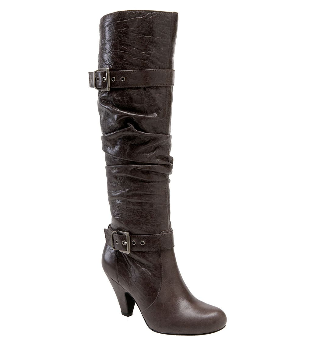 'Capry' Boot,                         Main,                         color, Lead Leather