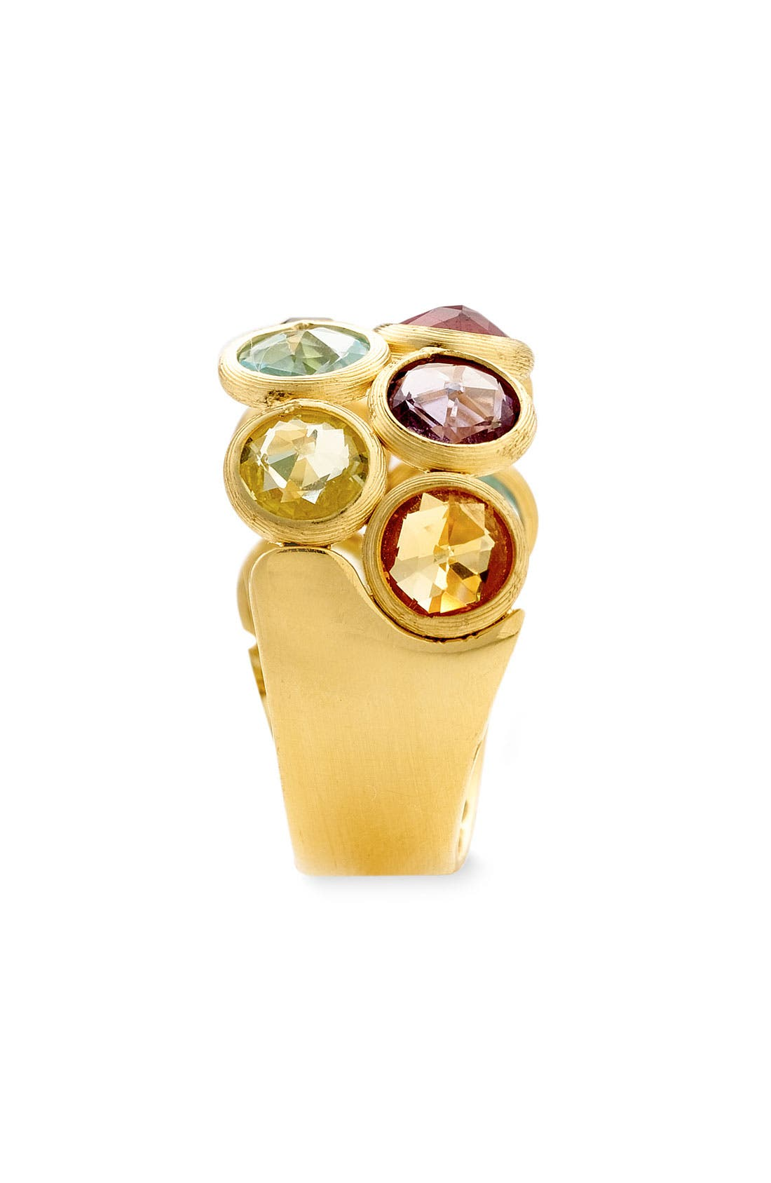 Alternate Image 2  - Marco Bicego 'Mini Jaipur' Double Row Semiprecious Stone Ring