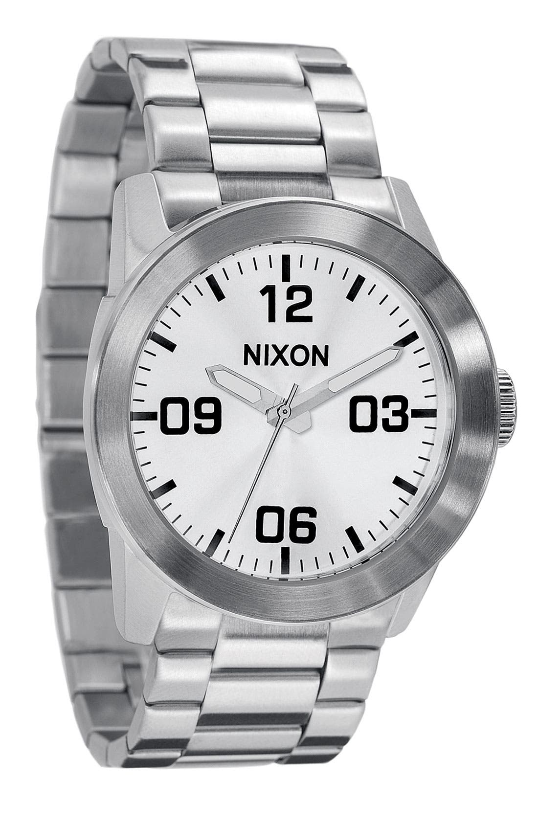 Alternate Image 1 Selected - Nixon 'The Private' Watch