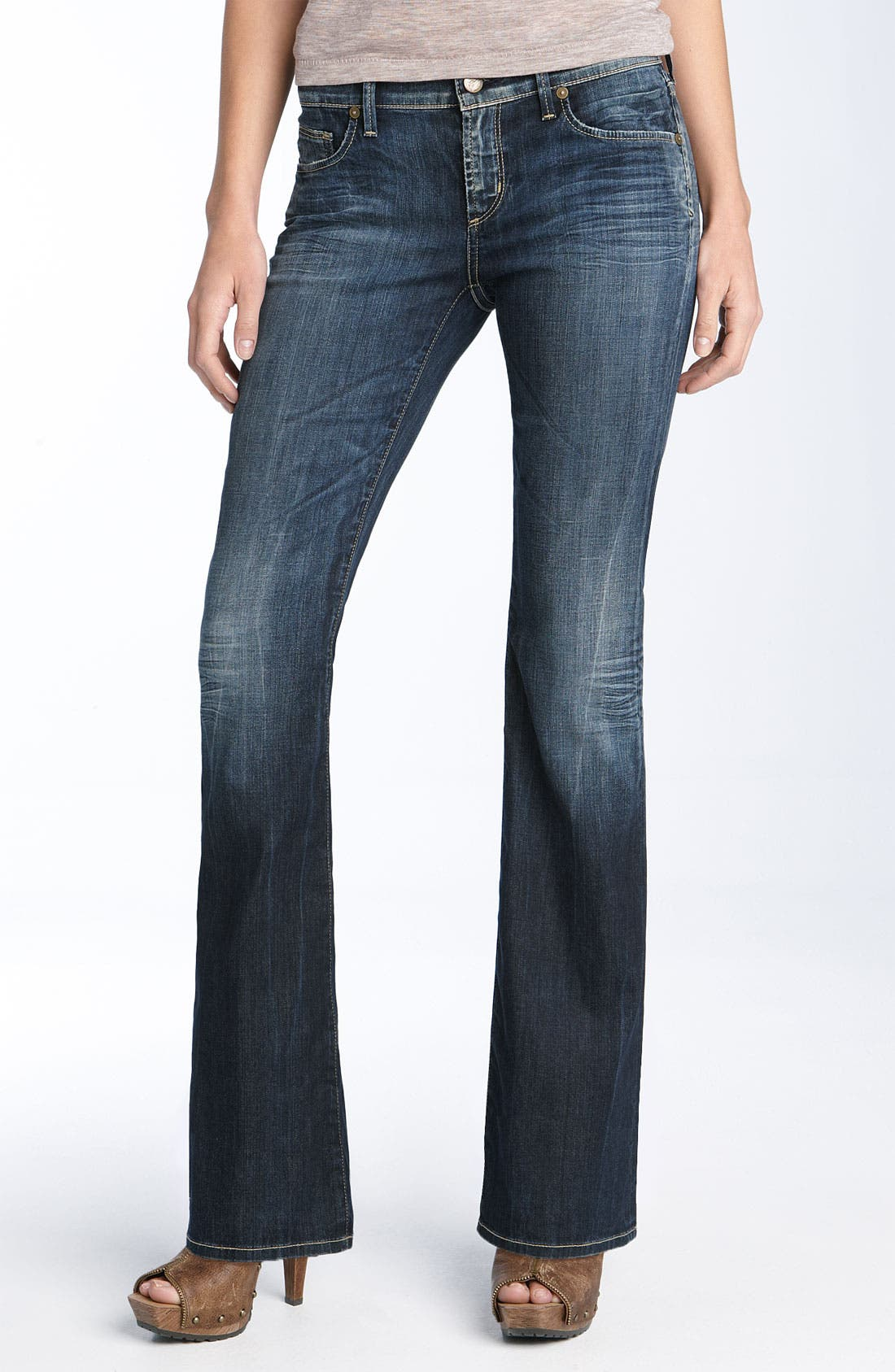 Alternate Image 2  - Citizens of Humanity 'Dita' Bootcut Stretch Jeans (Saint Wash) (Petite)