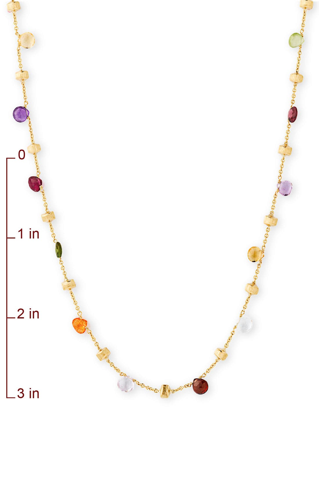 Alternate Image 2  - Marco Bicego 'Paradise' Single Strand Semiprecious Necklace