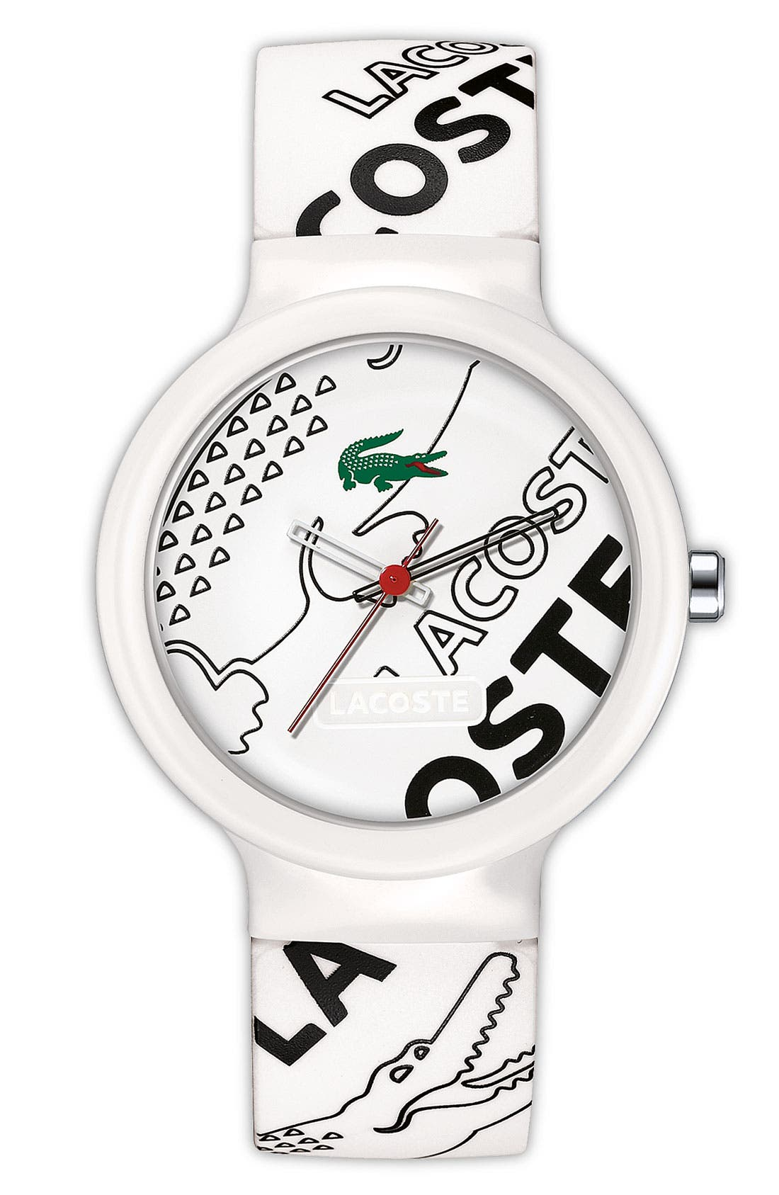 Main Image - Lacoste 'Goa' Logo Strap Watch, 40mm