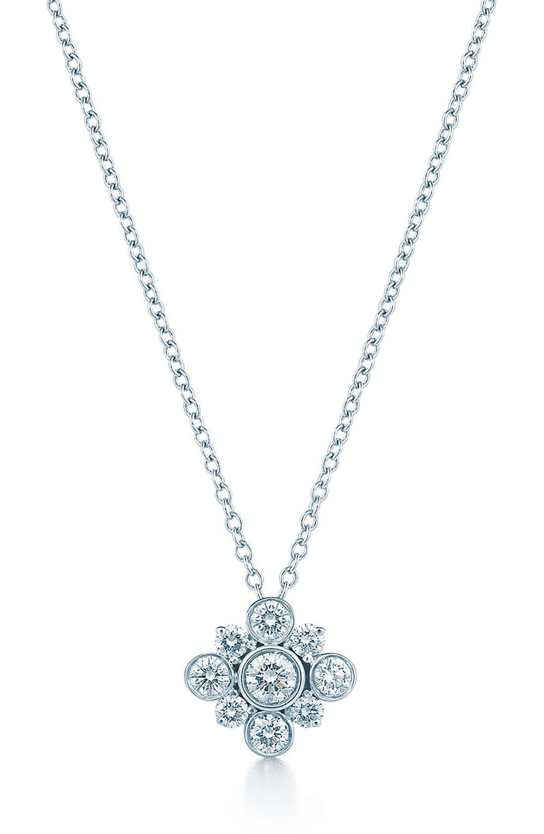 Alternate Image 1 Selected - Kwiat 'Petal' Diamond Pendant Necklace