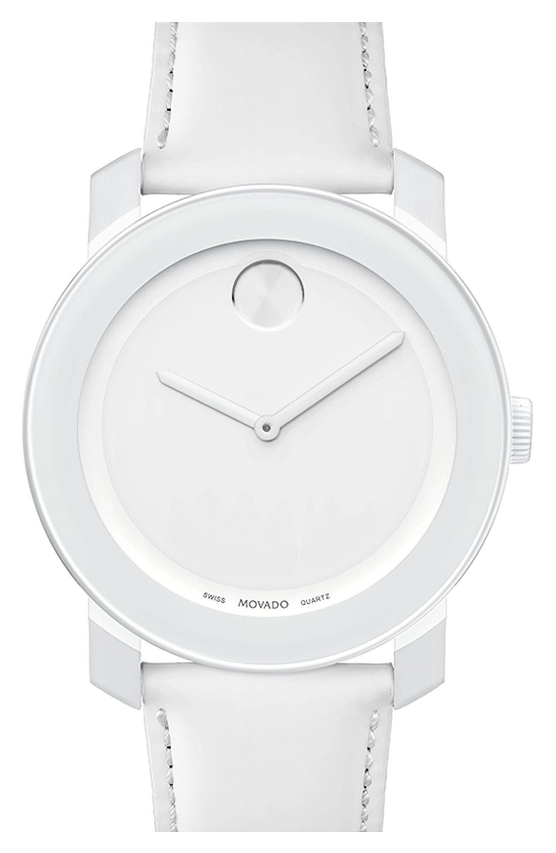 Alternate Image 1 Selected - Movado 'Large Bold' Watch, 42mm