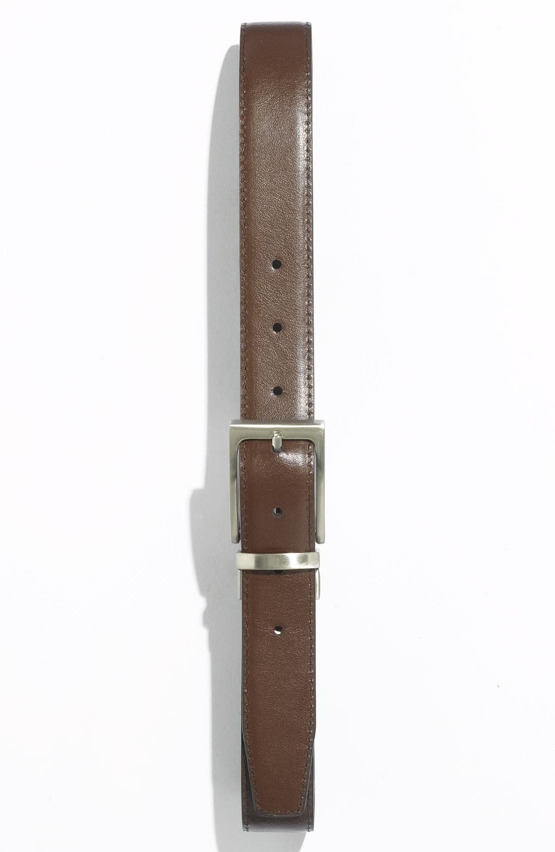 Alternate Image 2  - Joseph Abboud Reversible Calfskin Belt (Big Boys)