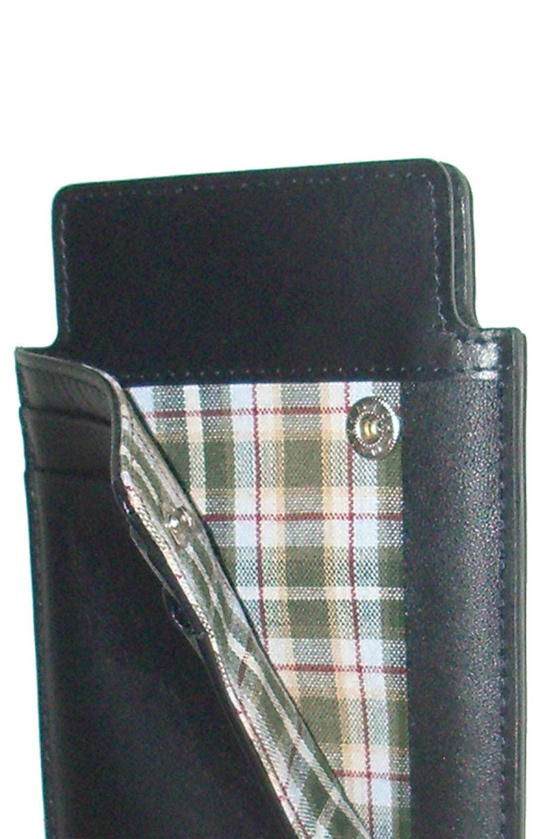 Alternate Image 2  - Boconi Leather Smartphone Sheath